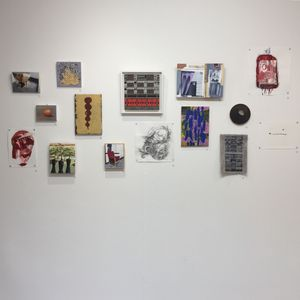 Prosaic: Generous installation shot at Globe Arts, Slaithwaite