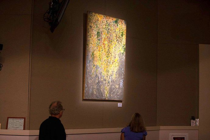 Lyrical Profusion, exhibit at Orange County Arts & Cultural Affairs, Orlando USA