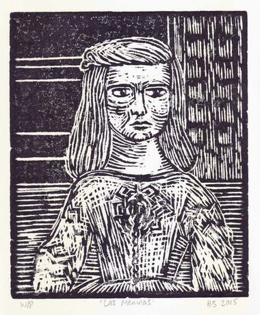 Woodcut by Helen Sykes