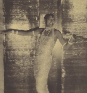 Adolf de Meyer (American [born France], 1868–1946). Josephine Baker (detail), 1925–26. Gum bichromate over platinum print, 45.2 x 29.5 cm (17 13/16 x 11 5/8 in.). The Metropolitan Museum of Art, New York, Ford Motor Company Collection, Gift of Ford Motor Company and John C. Waddell, 1987 (1987.1100.16)