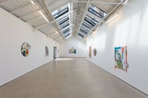 Installation view, 'Silk Cotton Snow', The Modern Institute, Osborne Street, Glasgow, 2021