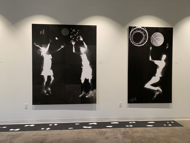 Radiate - life sized Photograms by Karen Amy Finkel Fishof: Image 4