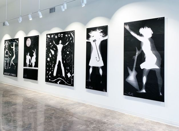 Radiate - life sized Photograms by Karen Amy Finkel Fishof: Image 0