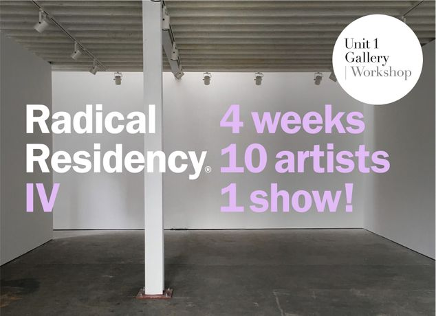 Radical Residency® IV: Image 0