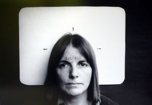 Marie Orensanz, Limitada (Limited), 1978. Photograph, edition 1 of 5, 13 3/4 x 19 11/16 in. (35 x 50 cm). Courtesy Alejandra Von Hartz Gallery. ©Marie Orensanz.
