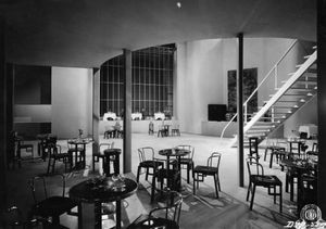 Set Design for Patatrac (1931), Collezione Museo Nazionale del Cinema, Turin