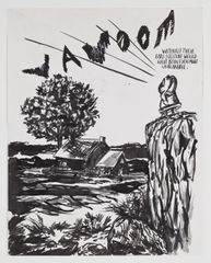 Raymond Pettibon No Title (Without their ears…), 2010 61 × 48.3 cm  Pen, ink and gouache on paper, Courtesy David Zwirner, New York