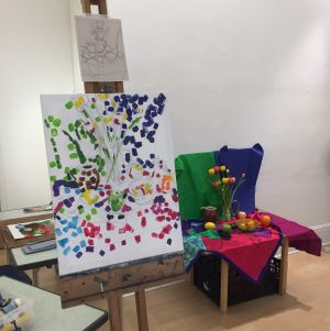 RBSA Summer Art Workshops for adults