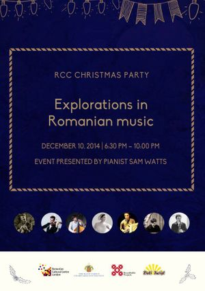 RCC Christmas Party: Explorations in Romanian Music