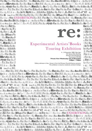 Re: Experimental Artists' Books Touring Exhibition: Image 0