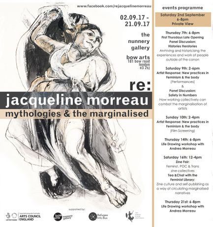 Re: Jacqueline Morreau Mythologies and the Marginalised: Image 0