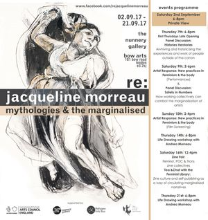 Re: Jacqueline Morreau Mythologies and the Marginalised