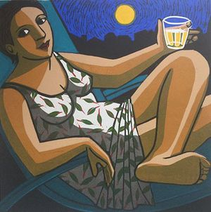 'Summer Moon' by Anita Klein