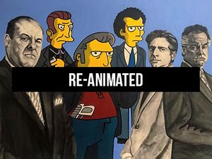 Re-Animated: Cartoons In Art