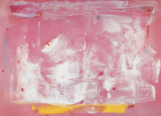 Helen Frankenthaler, Guardian Angel, 1982 © Helen Frankenthaler Foundation, Inc. / ARS, NY and DACS, London 2019