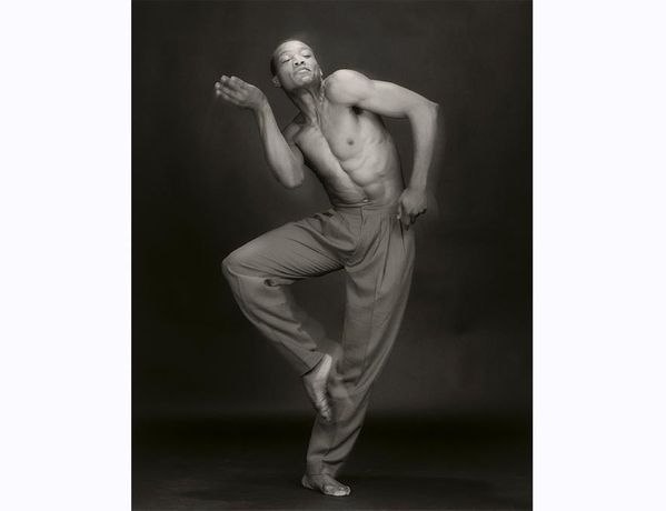 Bill T. Jones / Robert Mapplethorpe / 1985, Gelatin silver print on paper / National Portrait Gallery, Smithsonian Institution, © Robert Mapplethorpe Foundation