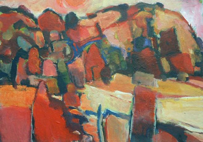 Recent Paintings by Martyn Vaughan Jones: Image 0