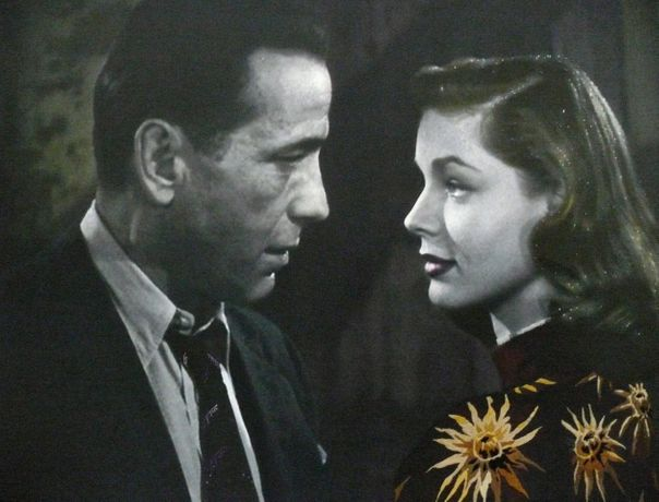 Bogart & Bacall-The Big Sleep,  100x130cm