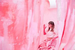 Gemma Jones - Performing Pink Part III, 3 hour live performance & installation, Asylum Gallery Wolverhampton May 2019