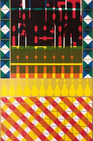 Sir Eduardo Paolozzi HRSA, Cover for a Journal, 1967, Screenprint, 38 x 25.5 cm