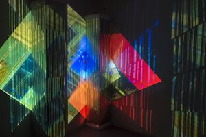 Shaping Light No.4, Gillian Hobson, Installation view