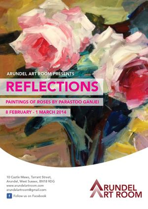 Reflections. Paintings of Roses by Parastoo Ganjei