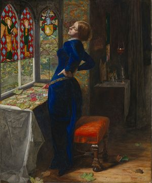 John Everett Millais, 'Mariana', 1851 © Tate, London 2015