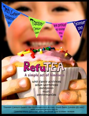 RefuTEA party in aid of the Refugee Council