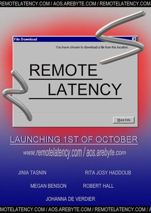Remote Latency by Goldsmiths Bsc Digital Arts Computing