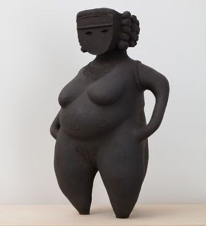 Renee So, Woman I, Stoneware. Photo: Angus Mill, Courtesy of the artist and Kate McGarry