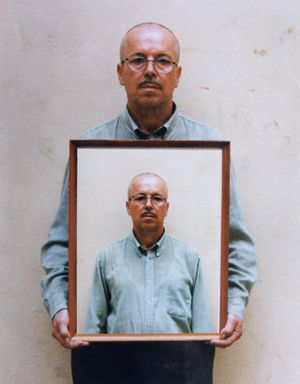 Leonid Borisov. Self Portrait. 2001