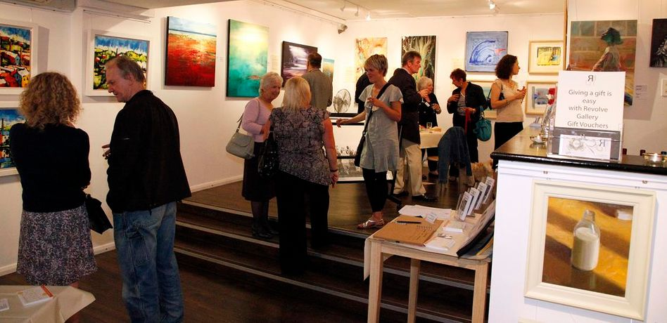 Revolve Gallery's 1st birthday party for Clitheroe Gallery: Image 0