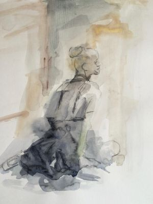 Ballerina Series by Katya Hart (watercolour)