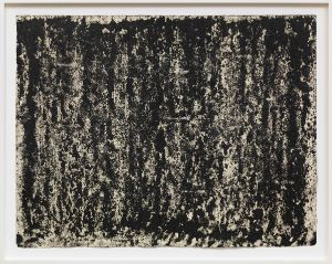 Richard Serra Composite 1–9, 2016 Silicon ink, paintstick, and litho crayon on paper 31 × 39 3/4 inches (78.7 × 101 cm) © Richard Serra