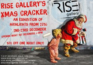 RISEgallery's Christmas Cracker