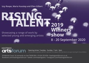 Rising Talent 2019 Winners Show at Hastings Arts Forum