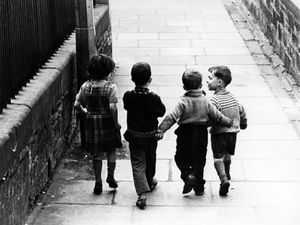 Robert Blomfield, 'Childhood Friends, Edinburgh', 1966. © the artist