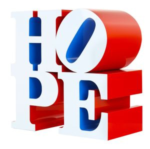 Robert Indiana - Don't Lose HOPE
