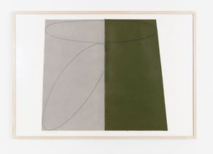 Robert Mangold: Works on paper 1975-2004