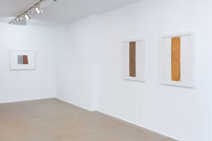 Robert Mangold: Works on paper 1975-2004: Image 2