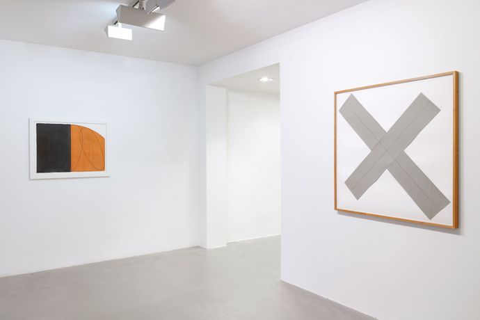 Robert Mangold: Works on paper 1975-2004: Image 1