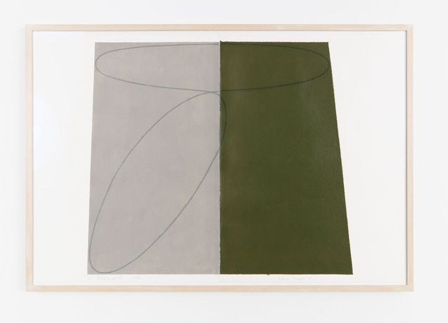 Robert Mangold: Works on paper 1975-2004: Image 0