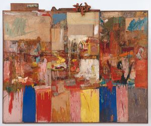 Robert Rauschenberg Collection, 1954/1955 Collection SFMoMA Gift Harry W. and Mary Margaret Anderson  ©  Robert Rauschenberg Foundation