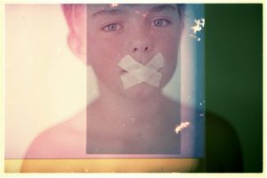 Robin Cracknell. Childhood