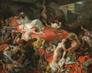 Romantic rebellions: From Delacroix to Picasso