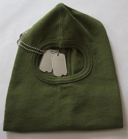 Balaclava Dog Tags
