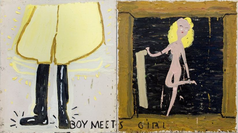 Rose Wylie. Dressed to Kill: Image 0