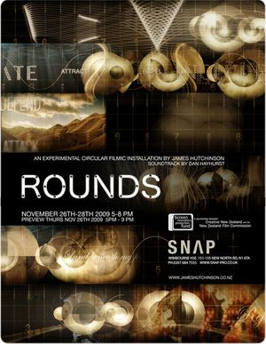 Rounds :A Circular Experimental Filmic Installation by James Hutchinson with audio by Dan Hayhurst