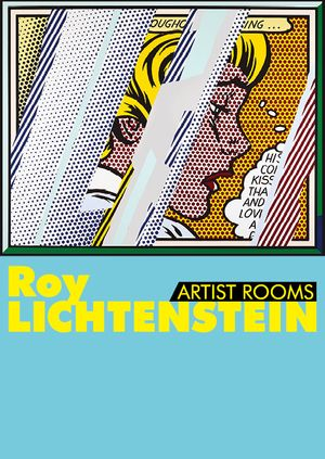 Image: Roy Lichtenstein, Reflections on Girl, 1990  Lithograph, screenprint on paper and metalised PVC on paper