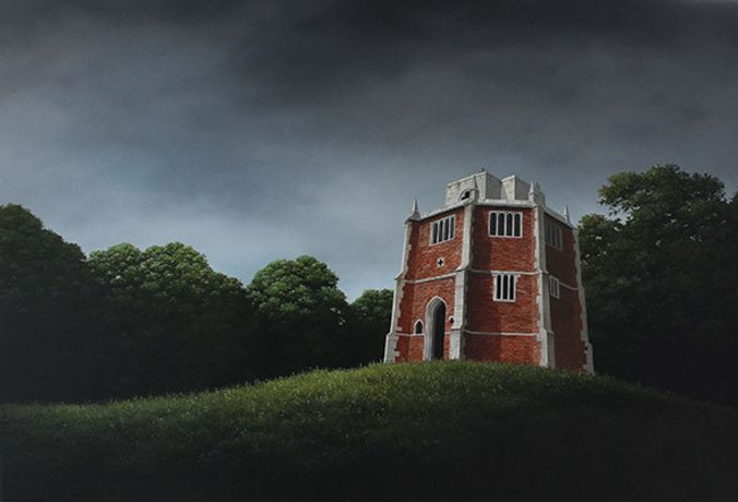 The Red Mount by Lee Madgwick Oil/Acrylic 80 x 120cm